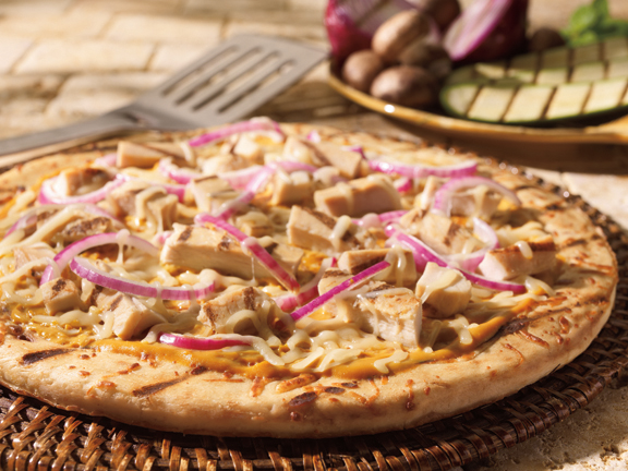 Chicken Honey Mustard Pizza Boboli